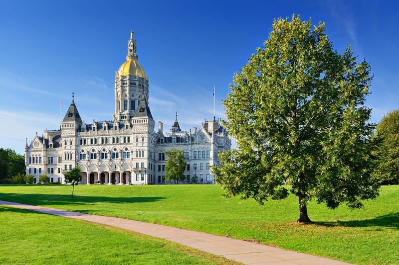 Connecticut State Capitol. In Hartford, Connecticut royalty free stock photography
