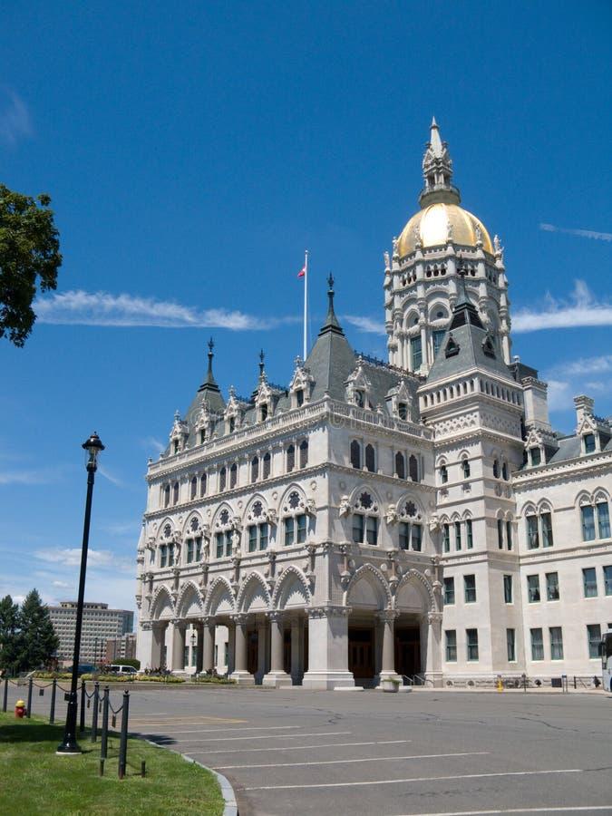Connecticut-Zustandkapitolgebäude lizenzfreie stockfotos