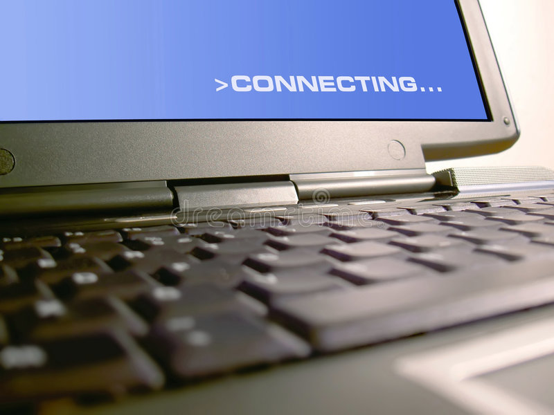 Connecting. Computer technology