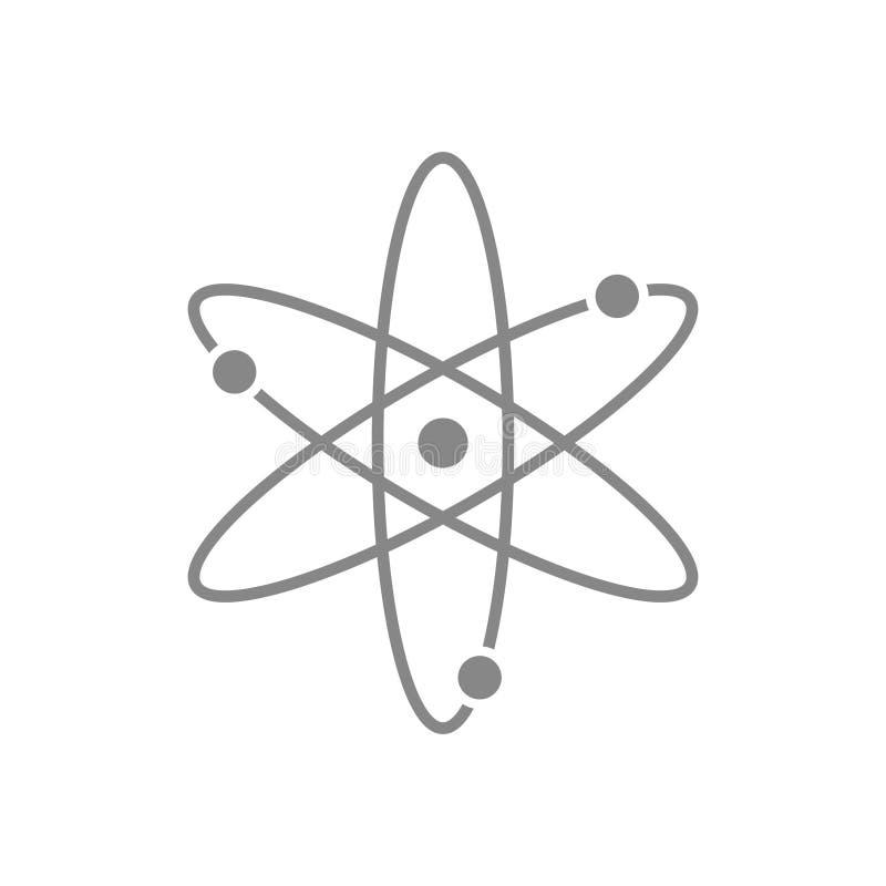Connection, atom, molecule icon, stock vector illustration vector illustration