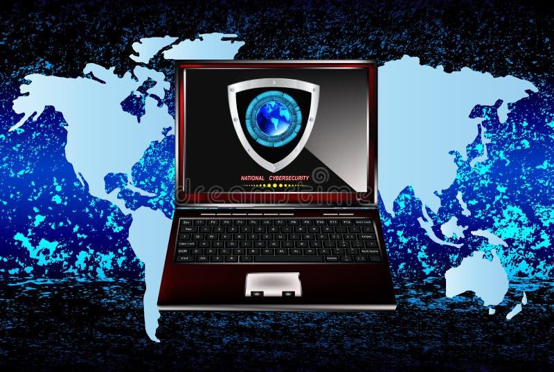 Connection.Cybersecurity бесплатная иллюстрация