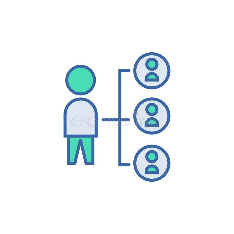 Connection icon. vector Scheme and Diagram symbol. flat Connection icon vector illustration