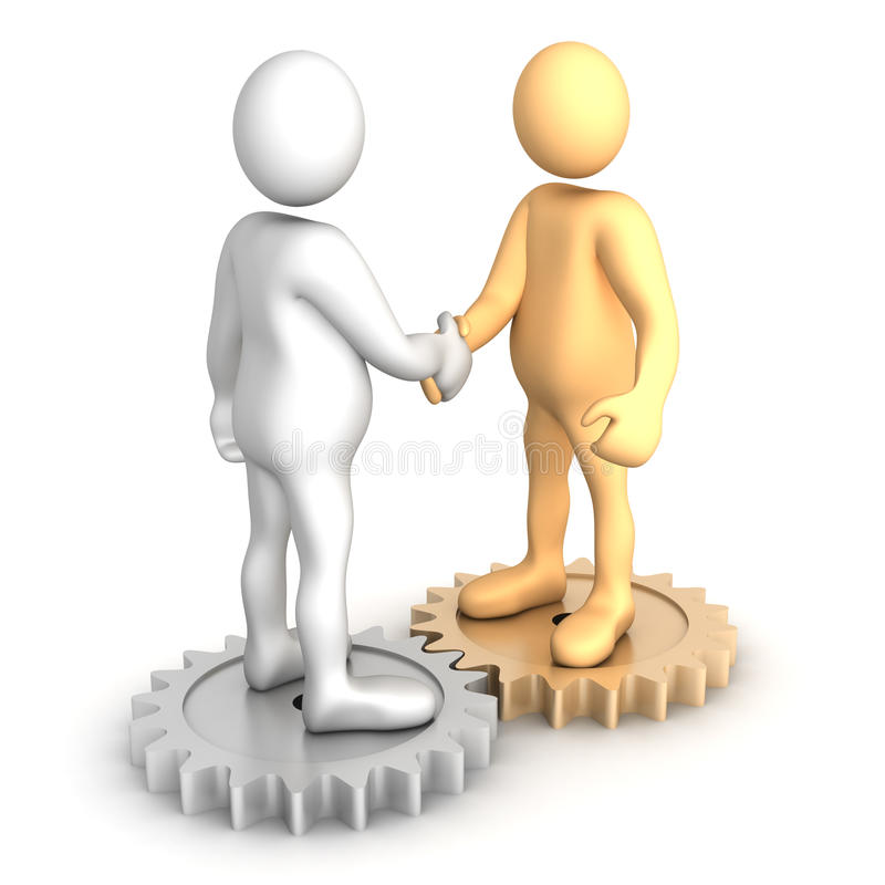 Download A connection is made stock illustration. Image of together - 13421151