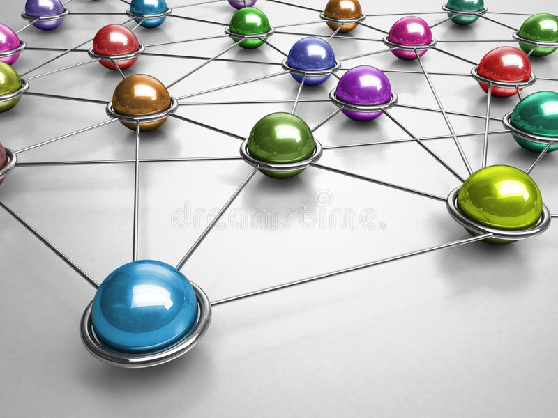 Download Connections stock illustration. Image of internet, group - 19967227