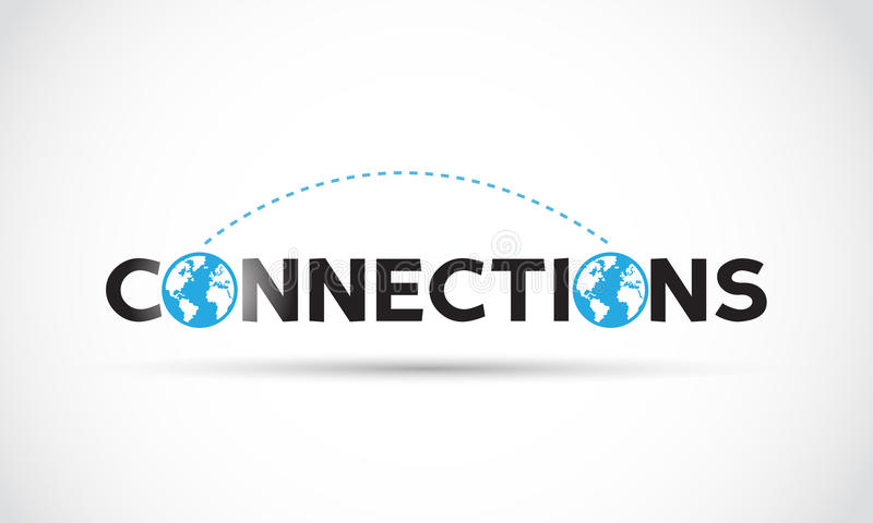 Connections Concept stock illustration