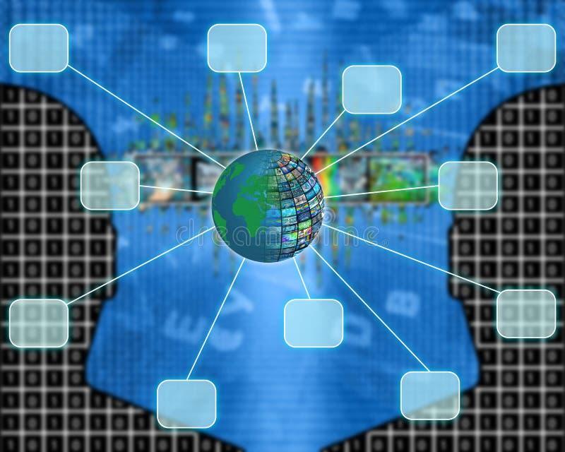 connectivité image libre de droits