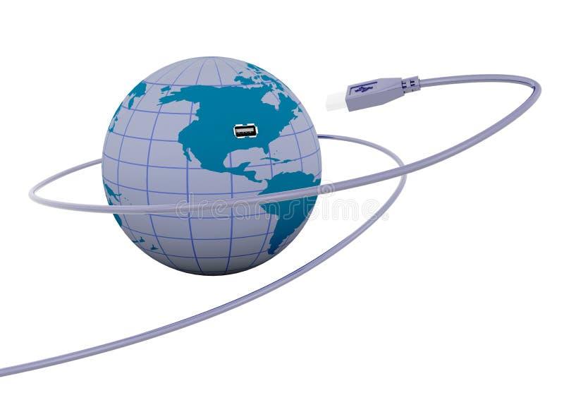 Connectivité illustration libre de droits