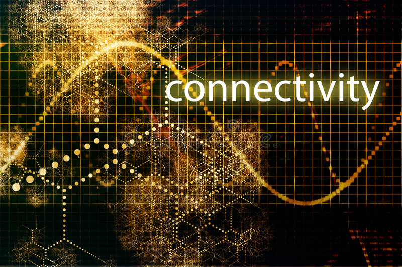 Download Connectivity stock illustration. Image of network, data - 6745727