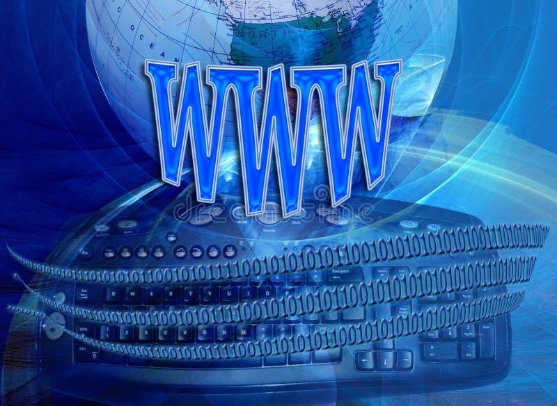 connectivityinternetteknologi royaltyfri illustrationer