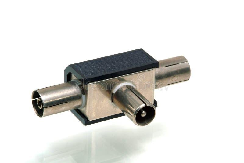 Download Connector linking arkivfoto. Bild av stift, signalering - 504078