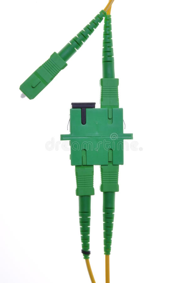 Download Connectors, optical cables stock photo. Image of panel - 25972480