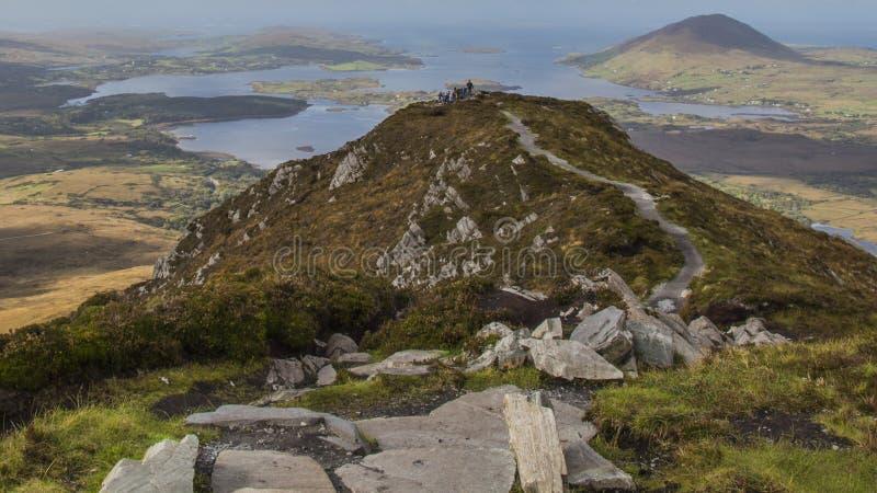 Connemara国家公园-爱尔兰 库存图片