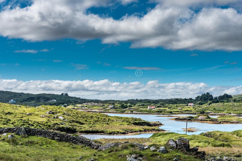 Connemara横向 库存图片