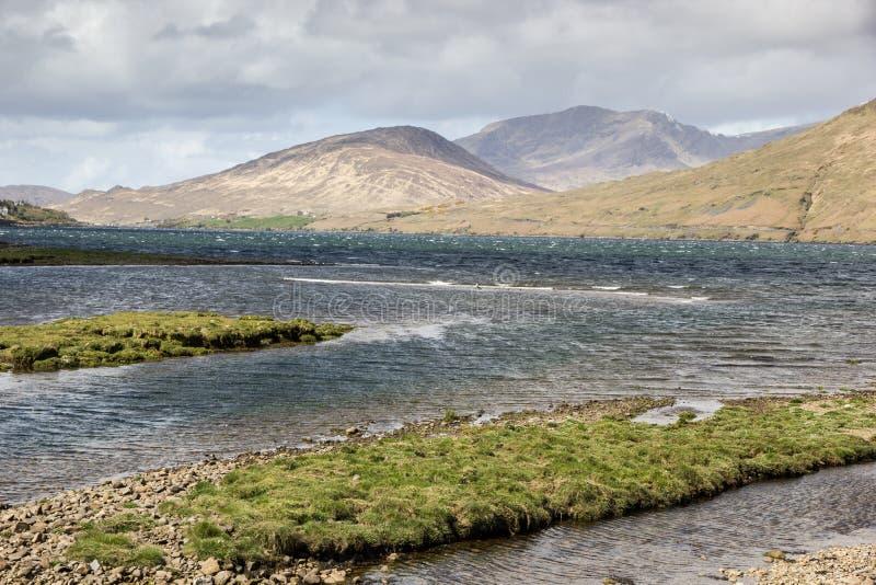 Connemara横向 免版税库存照片