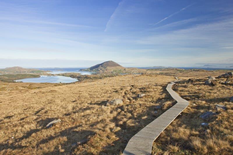 connemara爱尔兰国家公园 免版税库存照片