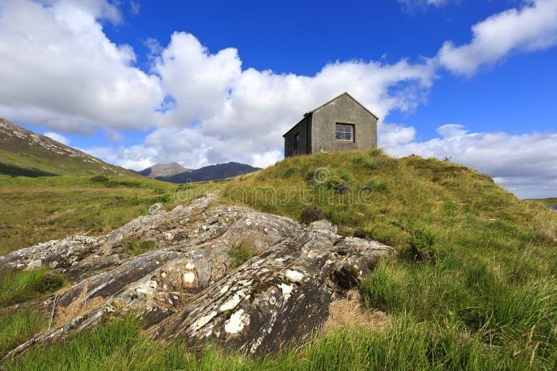 Connemara风景在爱尔兰 图库摄影