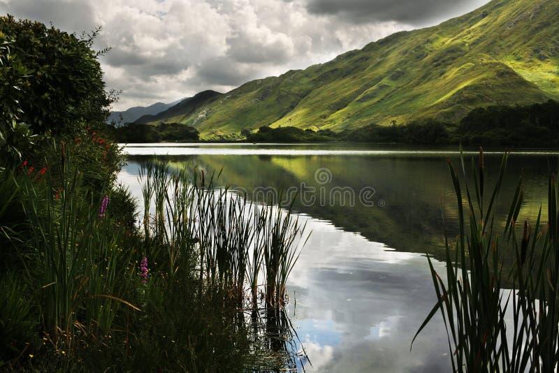 Connemara μια νεφελώδη ημέρα στοκ φωτογραφίες με δικαίωμα ελεύθερης χρήσης