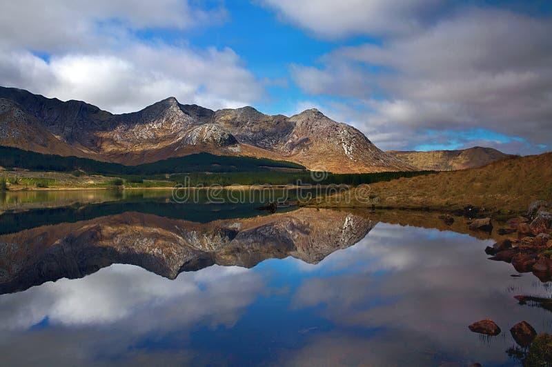 Connemara, Ierland royalty-vrije stock afbeeldingen