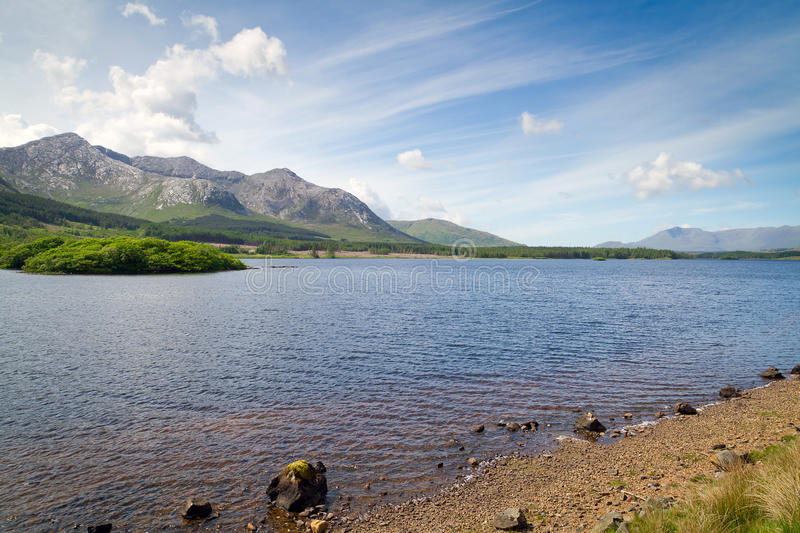 Download Connemara Mountains And Lake Scenery Royalty Free Stock Images - Image: 26416859