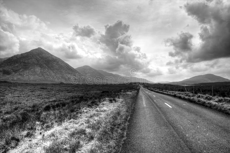 Connemara nationalpark royaltyfri bild