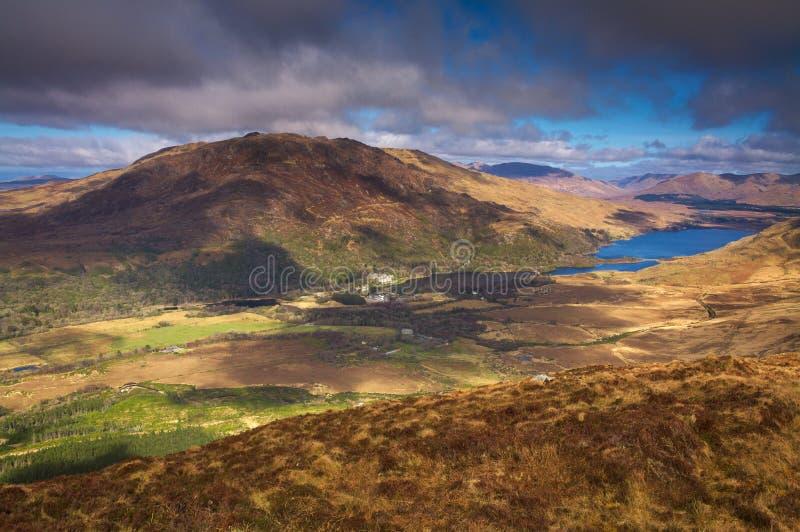 Connemara park narodowy, Irlandia fotografia stock