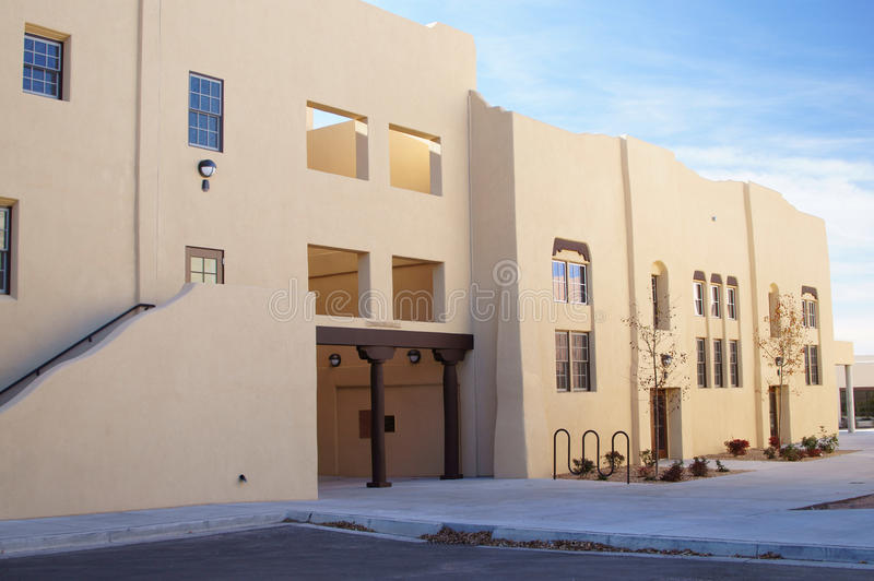 Download Conner Hall, School For Deaf, Santa Fe NM Stock Image - Image: 22722873