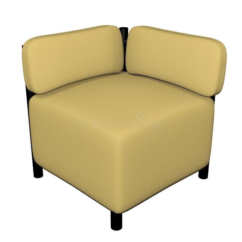 conner osi sofa ilustracja wektor