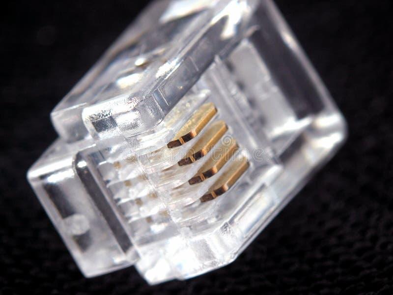 Connettore Di Telefono Fotografia Stock Libera da Diritti