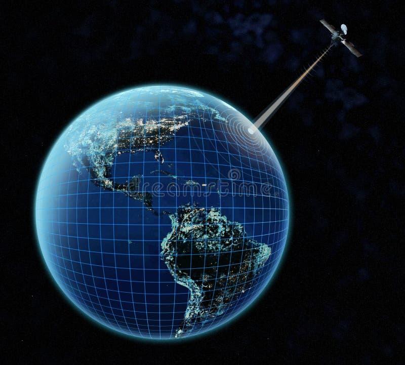 Connexion à la terre illustration libre de droits
