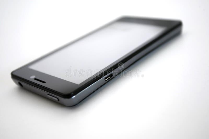 Connexion d'USB de téléphone portable photos libres de droits