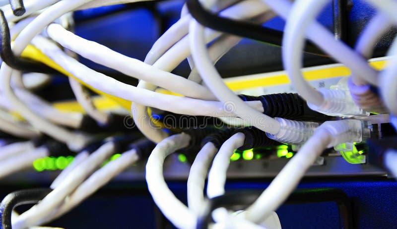 Connexion de réseau informatique images libres de droits