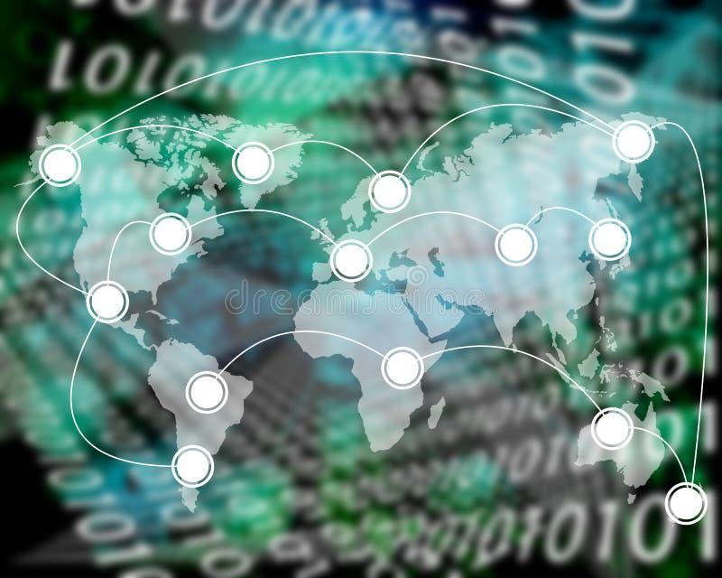 Connexion du monde illustration libre de droits
