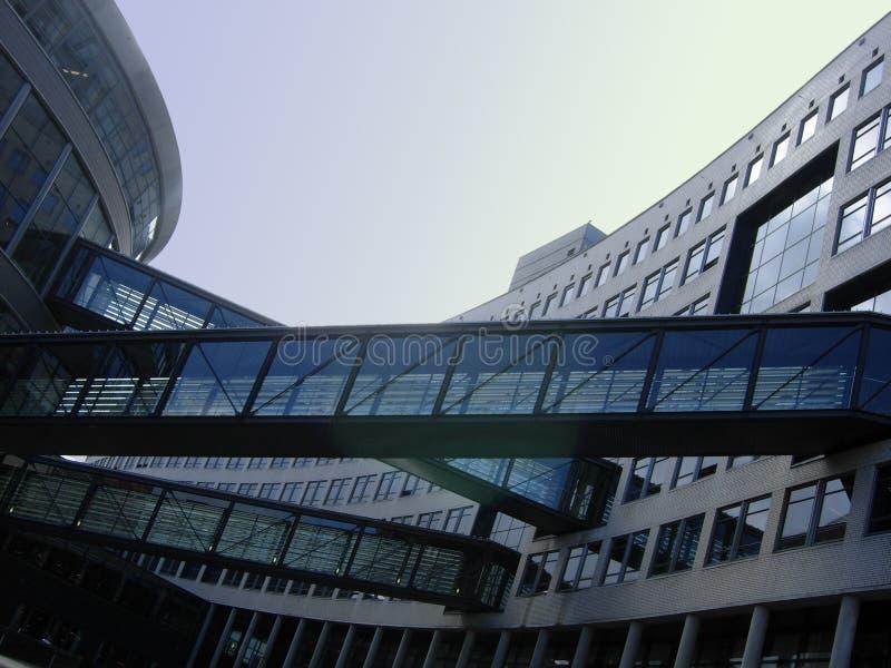 Connexion entre les constructions photo libre de droits