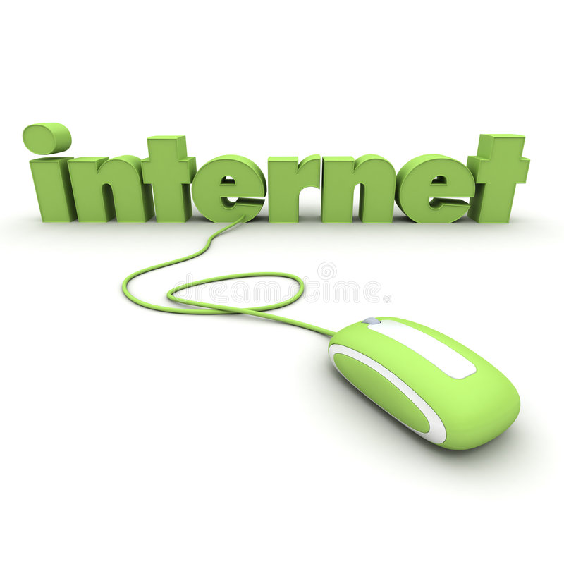 Connexion internet illustration de vecteur