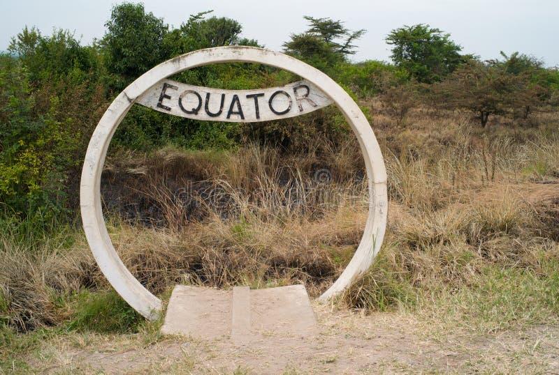 Connexion Ouganda d'équateur images stock