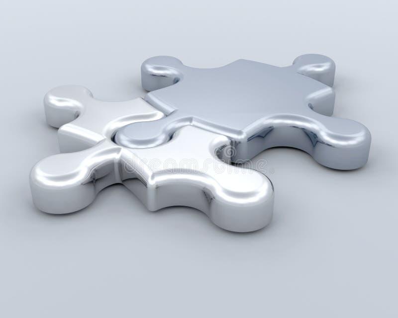 Connexions illustration de vecteur