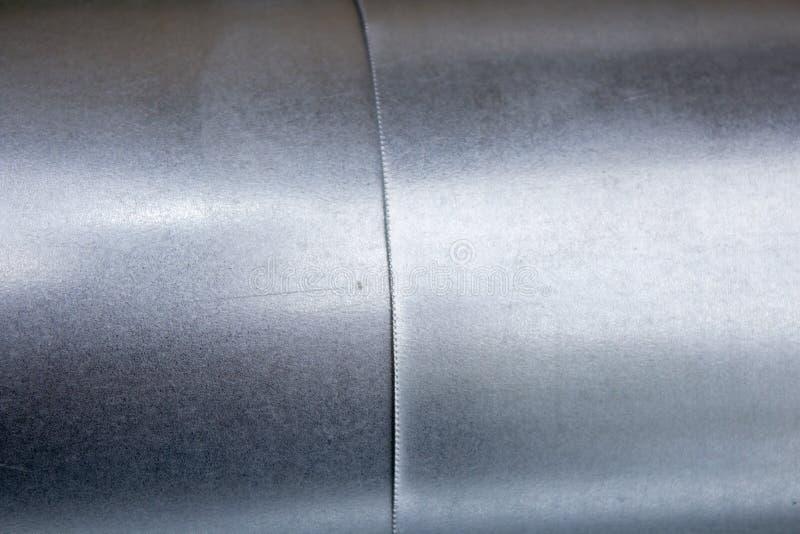 Connexions de tuyau galvanisées photos stock