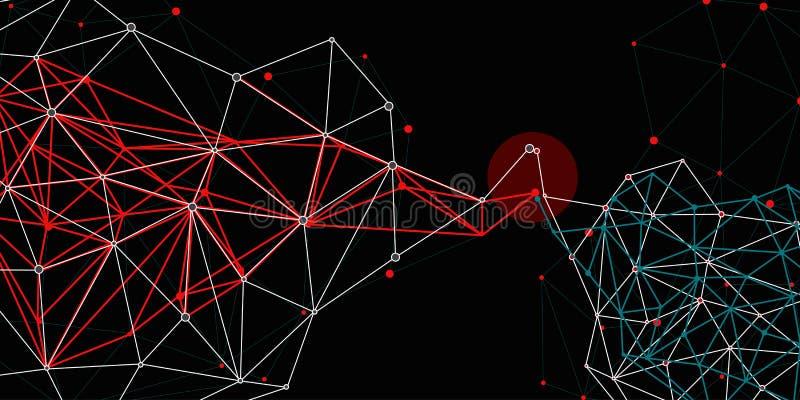 Connexions réseau image libre de droits