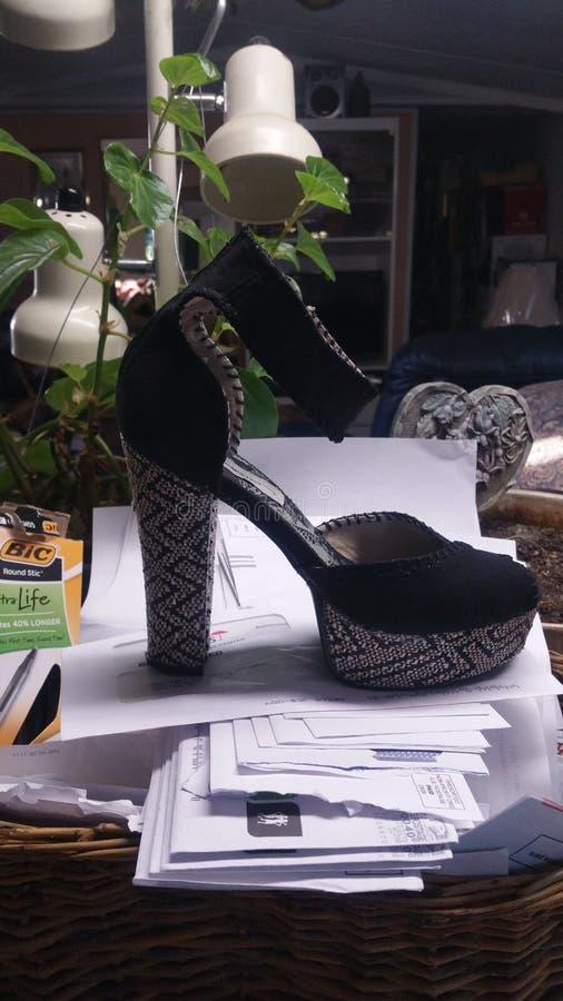 Connie ama le scarpe immagini stock