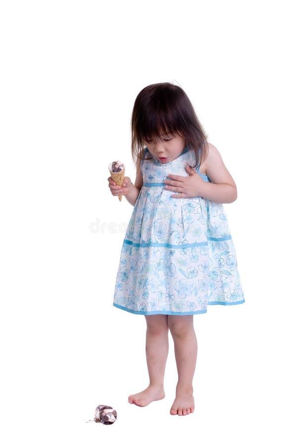 Cono di gelato fotografia stock libera da diritti