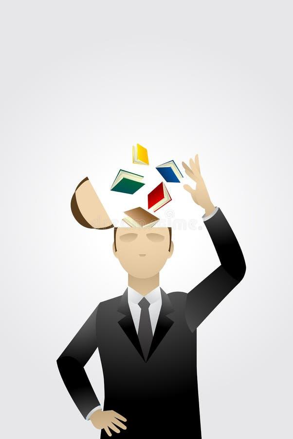Conoscenza di affari illustrazione vettoriale