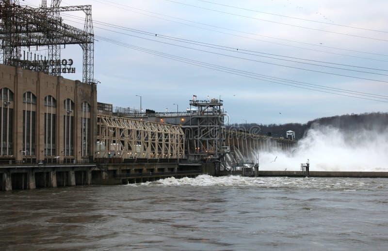 Download Conowingo floodgates stock photo. Image of engineering - 27309310