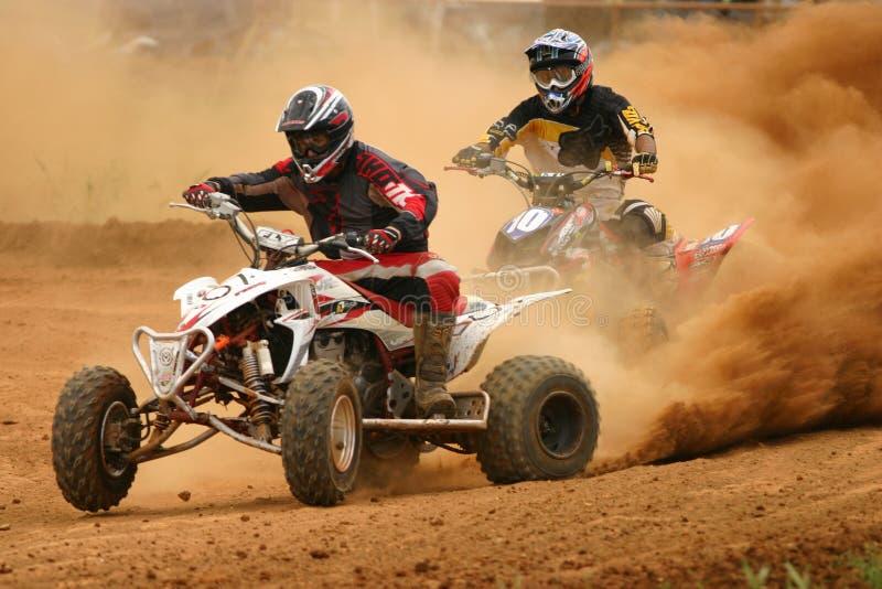 conpetition motocross fotografia stock