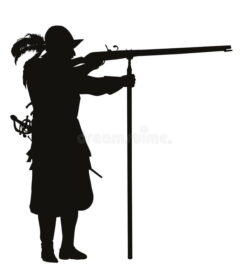 conquérant Thème de guerriers illustration de vecteur
