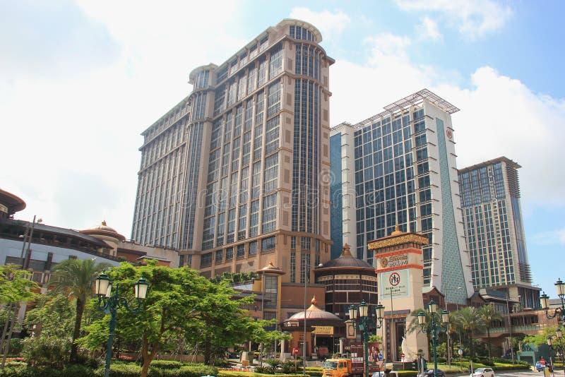 Conrad Macao Cotai Central in Macao stock afbeelding