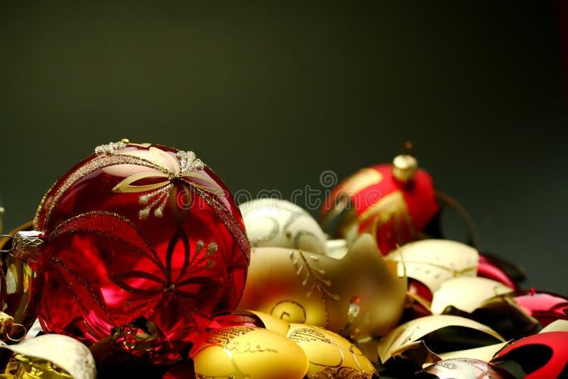 Conséquence de Noël images libres de droits
