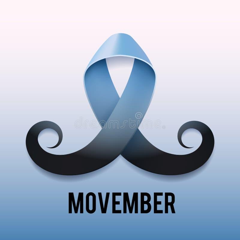 Consapevolezza del nastro del carcinoma della prostata royalty illustrazione gratis