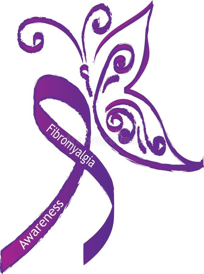 Consapevolezza della fibromialgia royalty illustrazione gratis