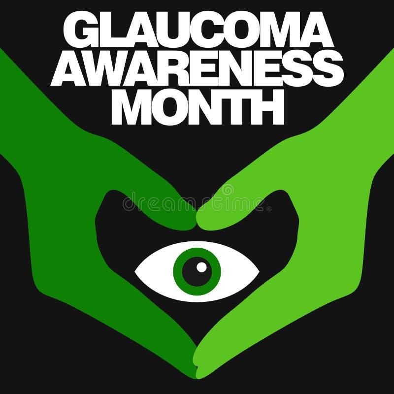 Conscience de glaucome illustration de vecteur
