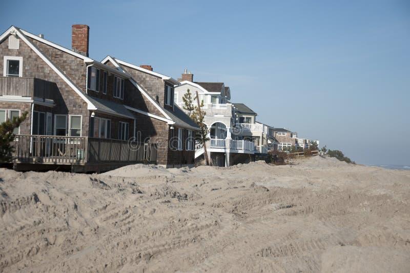 Consecuencias de Sandy del huracán foto de archivo libre de regalías
